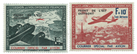 France - Legion stamps 1942 YT 4-5 mint