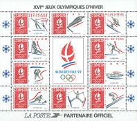 Frankrig - YT nr. 14 - Postfrisk miniark