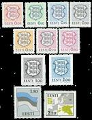 Estonie - Les deux premières séries neuves
