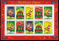 Frankrig - YT nr. 21 - Postfrisk miniark