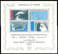 Frankrig - Postfrisk miniark YT nr. 7