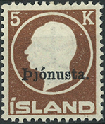 Iceland - Service - 1922