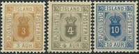 Iceland - Service - 1898-1900