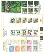 Finland - Slot Machine Booklets - BIRDS on stamps