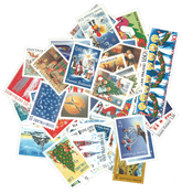Finland - Christmas stamps 1973-1999