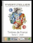 Yvert frimærkekatalog - Frankrig 2018