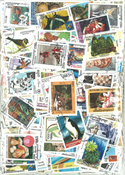 Asia - 1000 different stamps