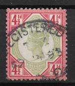 England 1887 - AFA 92 - Cancelled