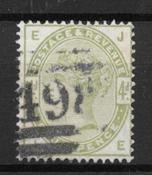 Englanti 1883 - AFA 77 - Leimattu