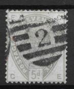 England 1883 - AFA 78 - Cancelled
