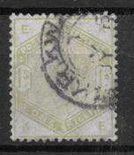 England 1883 - AFA 81 - Cancelled