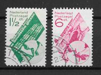 Alankomaat 1931 - AFA 243-244 - Leimattu