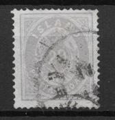 Iceland  1875 - AFA 10a - Cancelled