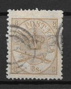 Denmark 1864 - AFA 14 - Cancelled