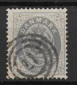 Denmark 1875 - AFA 22by - Cancelled