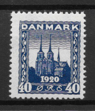 Danmark 1921 - AFA 116 - postfrisk