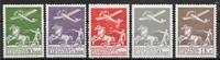 Denmark 1925 - 144-146+181+82 - Unused