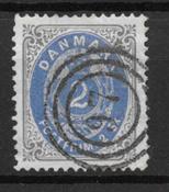 Denmark 1870 - AFA 16 - Cancelled