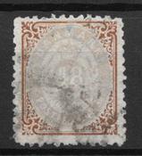 Denmark 1870 - AFA 21 - Cancelled