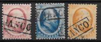 Alankomaat 1864 - AFA 4-6 - Leimattu