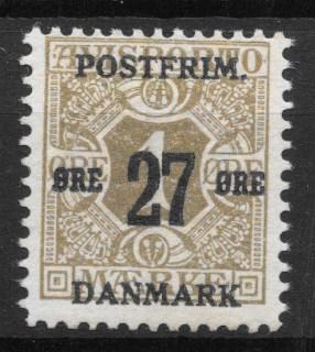 Danmark 1918 - AFA 85x - postfrisk