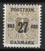Denmark 1918 - AFA 85x - Mint