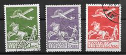 Danmark 1925 - AFA 144-146 - stemplet