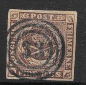 Denmark 1851 - AFA II a - Cancelled