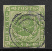 Denmark 1854 - AFA 5 - Cancelled