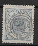 Denmark  1864 - AFA 11 - Cancelled