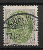 Denmark 1875 - AFA 29 - Cancelled