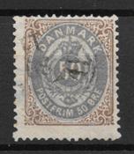 Denmark 1875 - AFA 30a - Cancelled