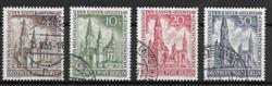 Berlin 1953 - AFA 108-111 - stemplet
