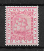 British Guyana 1863 - SG 95 - Unused