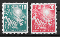 West Germany 1949 - AFA 1074-1075 - Mint