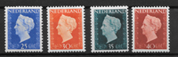 Alankomaat 1947 - AFA 487-490 - Käyttämätön liimakkeella
