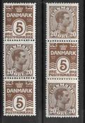 Denmark 1920 - Auto AFA 15-16 - Mint