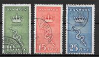 Denmark 1929 - AFA 178-180 - Cancelled