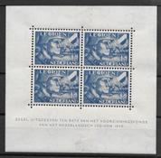 Alankomaat 1942 - AFA 404 i Blok - Käyttämätön liimakkeella