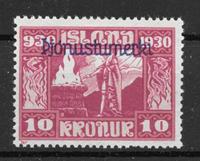 Iceland  1930 - AFA Tj 58 - Unused
