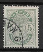 Denmark 1882 - AFA 32 - Cancelled