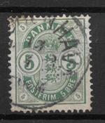 Denmark 1882 - AFA 32  m/om/vm - Cancelled