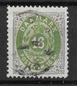 Denmark 1871 - AFA 20 - Cancelled