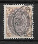 Danmark 1875 - AFA 30 - stemplet