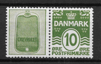 Denmark 1927 - Rekl.  AFA 15 - Unused