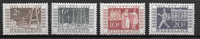 Alankomaat 1952 - AFA 597-600 - Käyttämätön liimakkeella