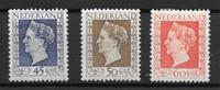 Netherlands 1948 - AFA 501-503 - Unused
