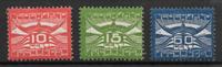 Alankomaat 1921 - AFA 102-104 - Käyttämätön liimakkeella