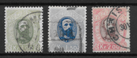 Norway 1878 - AFA 32-34  - Cancelled