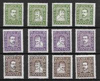 Denmark 1924 - AFA 132-143 - Mint